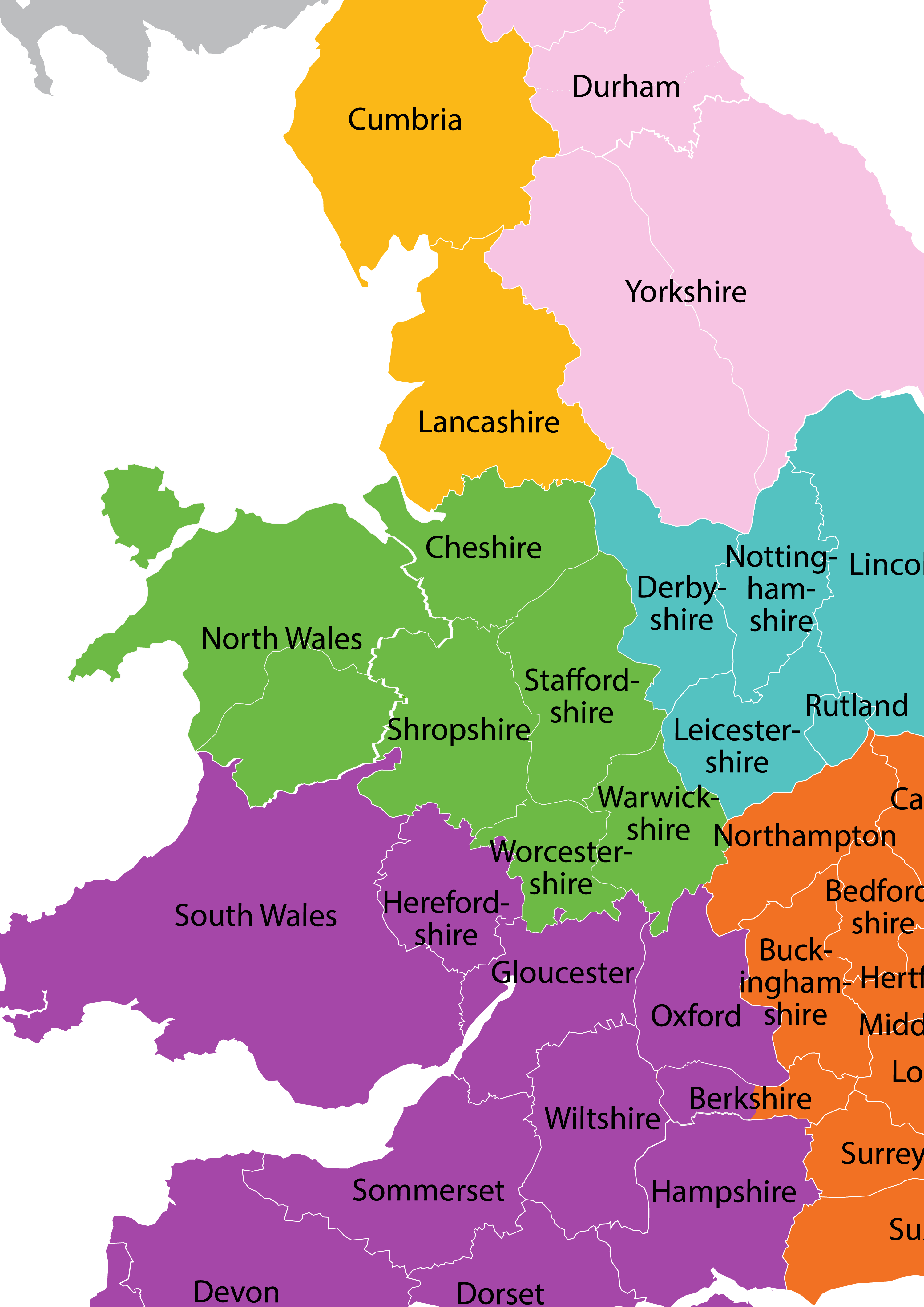 UK location map